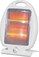 Cuarzo Halógeno pié pequeño portátil calentador eléctrico 400 W/800 W Nuevo