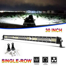 "30""inch 780W CREE LED Light Bar Tri-row Combo Offroad For Jeep Driving Truck 32"""
