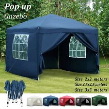 Gazebo Pop Up Tent For Garden Canopy Sides Party Heavy Duty Waterproof Marquee