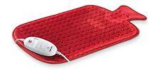 Beurer HK44 Heat Pad Shaped like Hot Water Bottle Fleece & Snuggly NEW Design