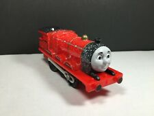 2009 Thomas and Friends Trackmaster Snow Covered James Tested and Works