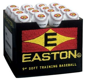 """Easton 9"""" SoftTouch Training Balls 48 Pack A122606"""