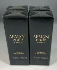 Lot of 4 Armani Code Absolu Eau De Parfum 0.5 oz