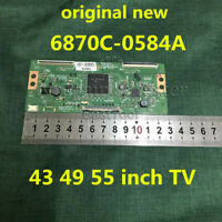 New Original 6870C-0584A 6870C-0584B V16 55UHD TM120 T-CON Board for LG 43 49 55