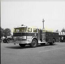 Spotswood NJ Fire Department FD - Hahn Engine #9 - Vintage Truck Negative