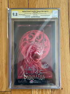 Michael Turner's Soulfire: Dying of the Light #1 CGC 9.8 Signature Series