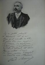 Gravure Portrait du Commandant Paul RENARD 1910