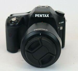 Pentax K200D 10.2MP Digital SLR Camera - Black