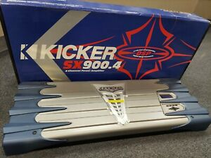BRAND NEW IN THE BOX OLD SCHOOL KICKER SX900.4 WITH DSP BUILT IN