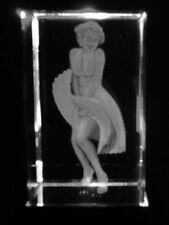 Crystal Glass Ornament Etched