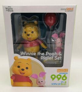 Disney Winnie the Pooh Nendoroid Winnie & Piglet Good Smile Company Brand New