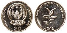 20 FRANCS 2003 RUANDA RWANDA Fdc Unc #7097