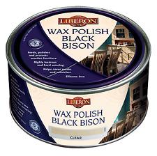 Liberon black bison cire polonais Georgian acajou 500ml