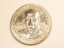 Dwight Eisenhower clad medal commemorating 40th anniversary of D-Day