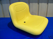 YELLOW SEAT FOR JOHN DEERE AM131531  LX255 GT225 GT235 GT245 GX335 GX345  #AQ