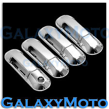 02-10 Ford Explorer Triple Chrome plated abs 4 Door Handle W/O PSG KH Cover