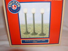 Lionel 6-29247 Mainline Classic Street Lamps O 027 New MIB set of 3 Green
