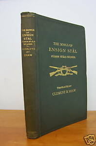 1925 ENSIGN STAL Songs, Military Song-Cycle of Finland