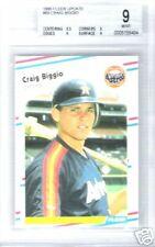 1988 Fleer Update #89 Craig Biggio RC BGS 9
