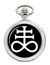 Leviathan Cross Satanic Pocket Watch
