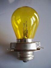 Lampe jaune 6V 15W P26s NEUVE (ampoule)