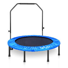 """48"""" MOVTOTOP 4FT Mini Trampoline Outdoor Sports Kids Toy Fitness Trainer"""