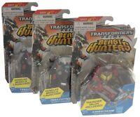 Transformers Beast Hunters Set 3 Trailcutter Starscream Prime Figure Launcher