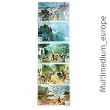 Liebig bilder Sammelbilder 5 Stk der Serie Wilhelm Tell