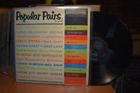 Lena Horne Louis Prima Popular Pairs in Music LP RCA CR 156 Mono