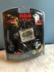 Vintage 2003 NOS Sealed RCA Lyra! RD1021 MP3 Player 64mb USB/SD Card Connection