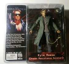 🔥KYLE REESE Human Resistance Soldier THE TERMINATOR NECA Figure Rare Vaulted