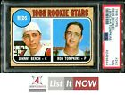 1968 TOPPS #247 JOHNNY BENCH RC REDS HOF PSA 7 A3170419-644