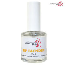 Millennium Nails Tip Blender 15ml For False Tips/Nail Extensions Reduces Filing