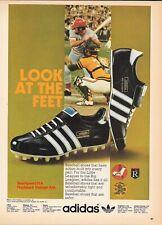 "1974 Adidas ""Triple Crown & Slugger"" Baseball Shoes Vintage Print Advertisement"