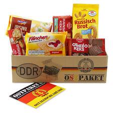 """Ostpaket """"Knusperpaket"""" mit 6 typischen Produkten der DDR Geschenkidee Kekspaket"""