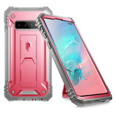 For Galaxy S10 Plus Case [360° Protective] Premium Shockproof Cover Pink