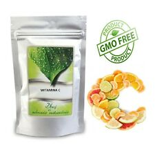 Vitamin C powder 500g / Witamina C lewoskrętna 500g PURE-BP/USP/EP/FCC/E300