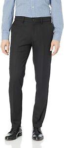 Haggar Men's Cool 18 Pro Slim Fit Premium Flex Flat Front Pant