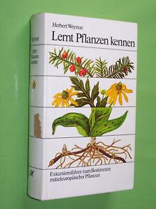 Lernt Pflanzen kennen - Herbert Weymar - 1988 Neumann Geb. (137)