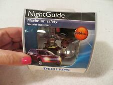 Philips NightGuide 9006 (NGS2) Maximum Safety Halogen Bulbs - 2 Per Pkg - NIP