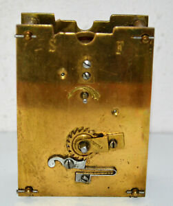 ANTIQUE FRENCH CARRIAGE CLOCK MOVEMENT