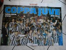 poster-JUVENTUS COPPA ITALIA JUVE-MILAN 4-0  I POSTER DI TUTTO SPORT-cm 50x70