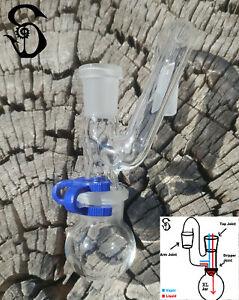 14mm Female to 14mm Male Sidecar Glass Drop Down Reclaim Removable XL Jar USA