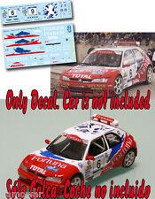 Decal 1:43 Roberto Solis - PEUGEOT 306 MAXI - Rally Mediterraneo 2001