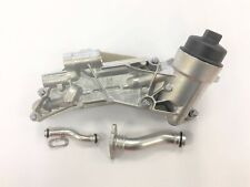 Vauxhall Astra Oil Cooler & Filter Housing With Inlet Outlet Pipes 93186324