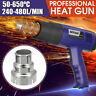 1800W Heat Gun Hot Air Wind Nozzle Power Tool Paint Stripper Dual  ☆