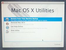 Apple Mac OSX 10.7 Leone DVD di installazione