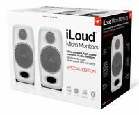 NEW IK Multimedia iLoud Micro Speaker Monitors WHITE