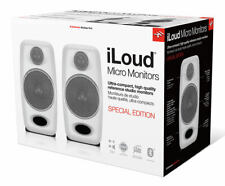 NEW IK Multimedia iLoud Micro Speaker Monitors WHITE