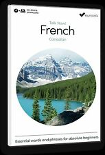 Eurotalk Talk Now Canadian French for Beginners - Download option and CD ROM